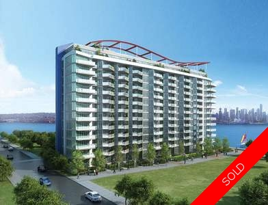Lower Lonsdale Condo for sale:  2 bedroom 933 sq.ft. (Listed 2017-01-24)